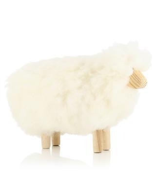 Petit mouton en bois et laine MOT1 FOUTAZUR