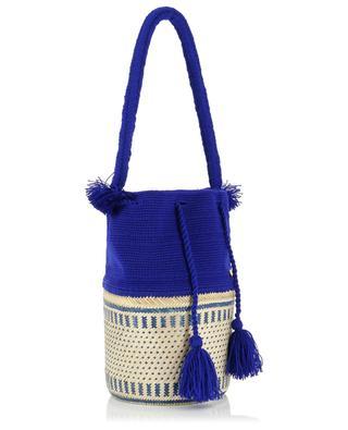 The Antonella cotton and iraka basket bag SORAYA HENNESSY