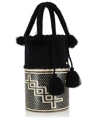 The Lupe cotton and iraka basket bag SORAYA HENNESSY