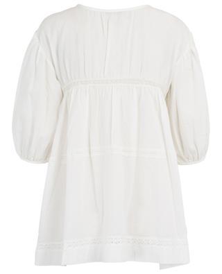 Petzy lace yoke tunic HEMISPHERE
