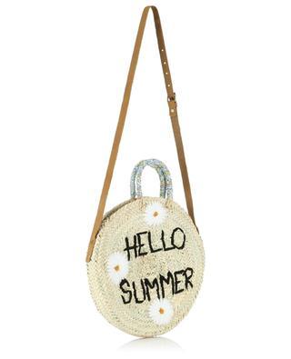 Medium Hello Summer wicker handbag MANA SAINT TROPEZ