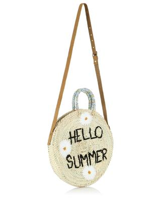 Medium Hello Summer wicker handbag MANA SAINT TROPEZ