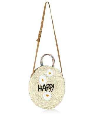 Medium Happy wicker handbag MANA SAINT TROPEZ