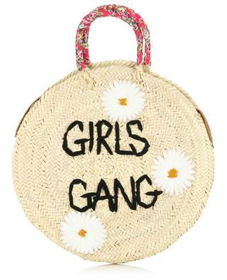 Sac à main en osier Medium Girls Gang MANA SAINT TROPEZ