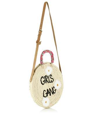 Handtasche aus Kordweide Medium Girls Gang MANA SAINT TROPEZ