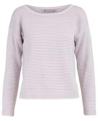 Short striped cotton jumper HEMISPHERE