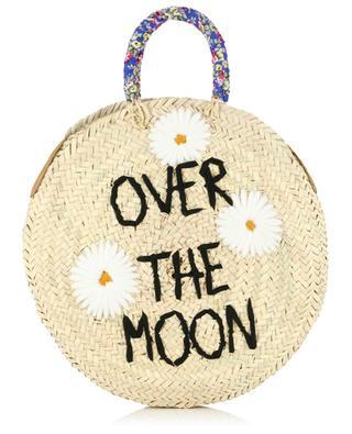 Over The Moon wicker handbag MANA SAINT TROPEZ