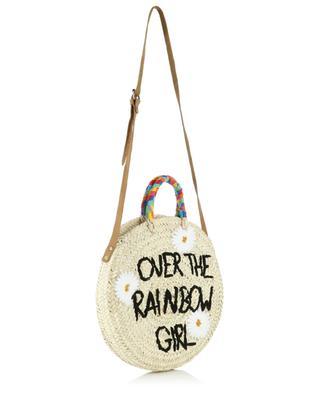 Medium Over The Rainbow Girl wicker handbag MANA SAINT TROPEZ