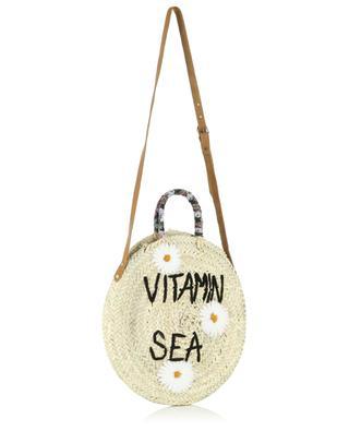 Handtasche aus Kordweide Medium Vitamin Sea MANA SAINT TROPEZ