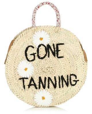 Medium Gone Tanning wicker handbag MANA SAINT TROPEZ
