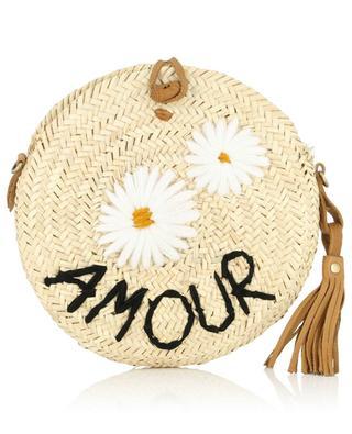Amour wicker shoulder bag MANA SAINT TROPEZ