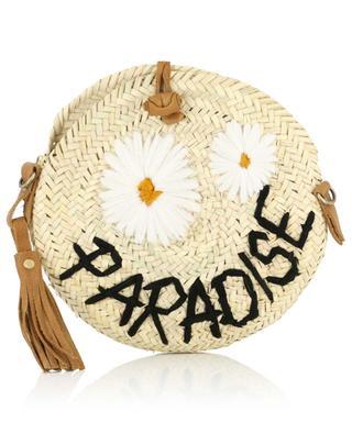 Kleine Schultertasche aus Kordweide Paradise MANA SAINT TROPEZ