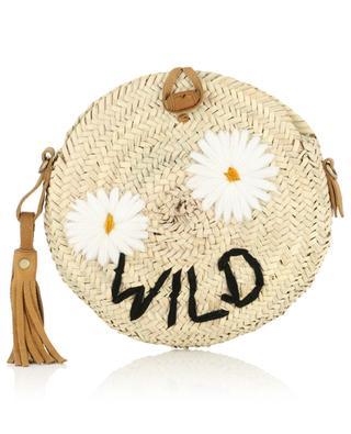 Kleine Schultertasche aus Kordweide Wild MANA SAINT TROPEZ