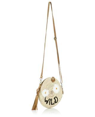 Wild small wicker shoulder bag MANA SAINT TROPEZ
