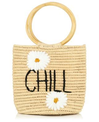 Chill small wicker bucket bag MANA SAINT TROPEZ