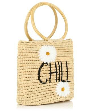 Chill small wicker bucket bag MANA SAINT TROPEZ