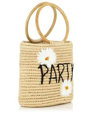 Party small wicker bucket bag MANA SAINT TROPEZ