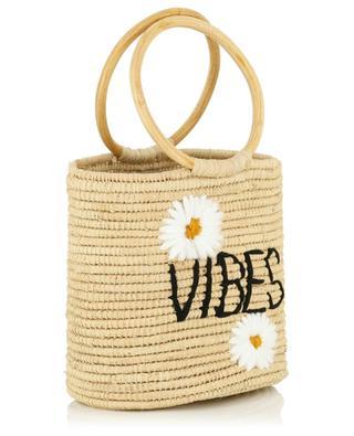 Vibes small wicker bucket bag MANA SAINT TROPEZ