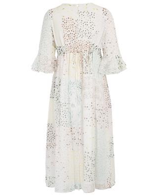 Robe ample en soie imprimée Rabea HEMISPHERE