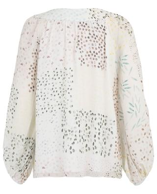 Rumba printed puff sleeve blouse HEMISPHERE