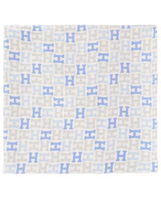 273e94f06a1f Carré de soie motif H Alikinicky HEMISPHERE ...