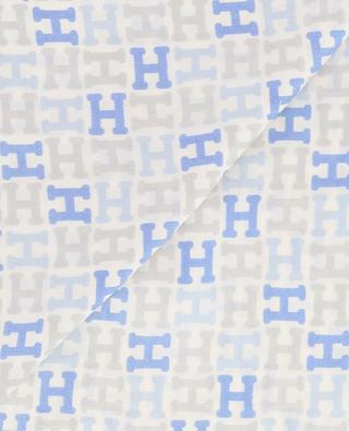aeba47d2181f ... Carré de soie motif H Alikinicky HEMISPHERE