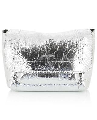 Lulu S metallic leather micro bag JEROME DREYFUSS