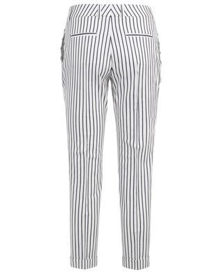 Pantalon raccourci rayé Violette PIAZZA SEMPIONE