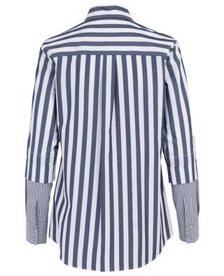 Langes gestreiftes Hemd aus Popeline PIAZZA SEMPIONE