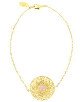 Bracelet plaqué or et quartz Cassandre COLLECTION CONSTANCE