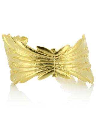 Ambre gold-plated cuff COLLECTION CONSTANCE