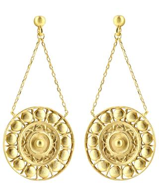Ulysse gold-plated earrings COLLECTION CONSTANCE