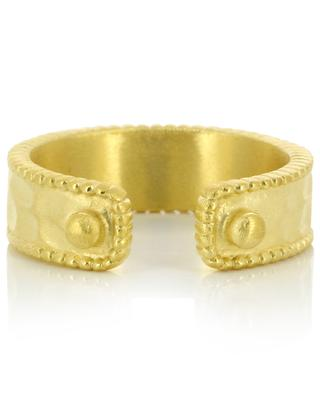 Dolos gold-plated ring COLLECTION CONSTANCE