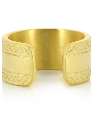 Alestria gold-plated ring COLLECTION CONSTANCE