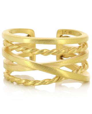 Ourea gold-plated ring COLLECTION CONSTANCE