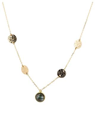 Hebe gold-plated necklace with labradorite COLLECTION CONSTANCE