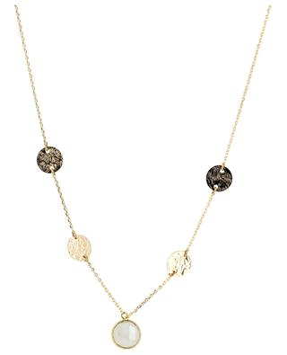 Hebe gold-plated necklace with moonstone COLLECTION CONSTANCE