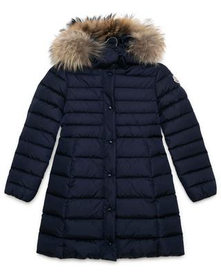 New Neste mid-length down jacket with fur MONCLER