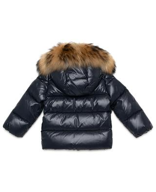 K2 down jacket with fur MONCLER