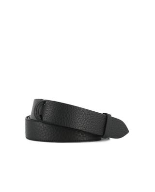 Grained leather belt ORCIANI