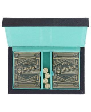Coffret de jeux de cartes en cuir NOT-ANOTHER-BILL