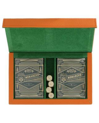 Kartenspielset aus Leder NOT-ANOTHER-BILL