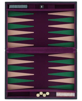Backgammon-Spiel in Lederbox NOT-ANOTHER-BILL