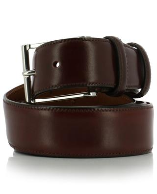Classic smooth leather belt SANTONI