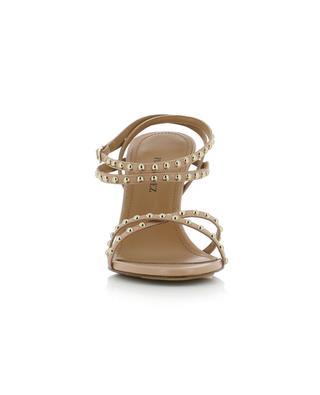 Sandales à talon en cuir clouté Opera PURA LOPEZ
