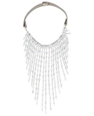 Halskette aus Leder und Kristallen Helen FABIANA FILIPPI