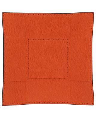 Jack small foldable leather valet tray GIOBAGNARA