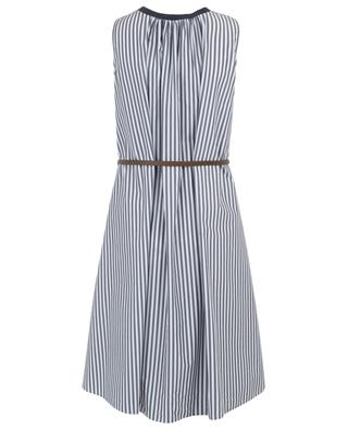 Striped cotton blend sleeveless dress FABIANA FILIPPI