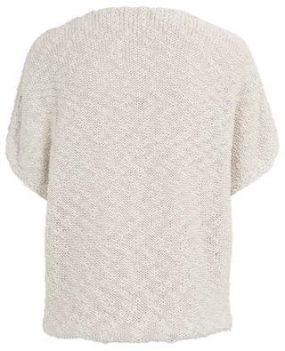Knit cotton top FABIANA FILIPPI