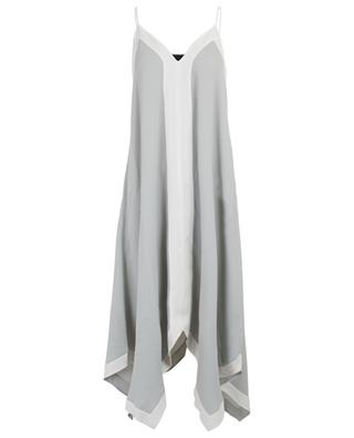 Robe trapèze bicolore à bretelles FABIANA FILIPPI